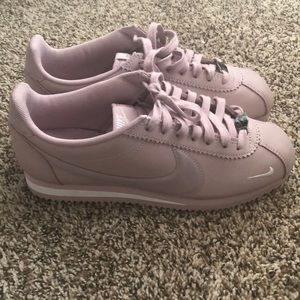 Rare Blush pink Leather Nike Cortez.